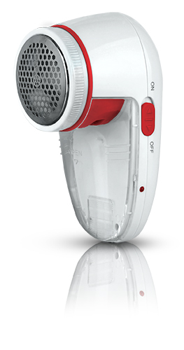 Mesko Lint remover MS 9613 r White/Red, Rechargeable 5908256836693