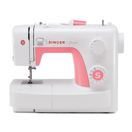 Singer SIMPLE 3210 White, Number of stitches 10, Number of buttonholes 1 Šujmašīnas