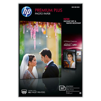 HP Premium Plus Glossy Photo Paper foto papīrs
