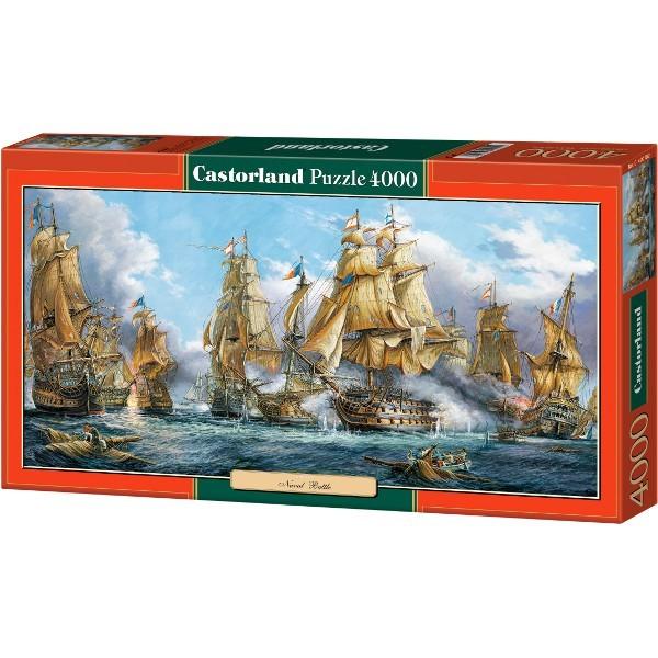 Castor 4000 EL. The Battle of the Sea (400102 puzle, puzzle