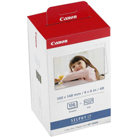 Canon KP108IN Paper Set | 100x148mm | 3x36sheets | CP100/200/220 papīrs