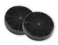 FABER Charcoal filter F8 KIT 2 C.F. D196 H37 FABER