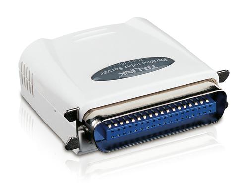 TP-Link TL-PS110P print server 1xLPT, 1xRJ-45 Printserveris