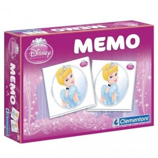 CLEMENTONI Memo Pocket Princess 13401 galda spēle