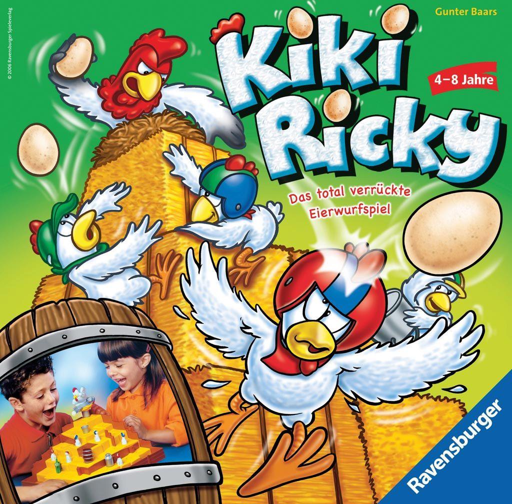 RAVENSBURG Kiki Ricky(R21044) galda spēle