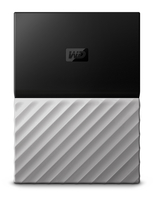 WD My Passport Ultra 1TB | USB 3.0 | Colour Black / Grey Ārējais cietais disks