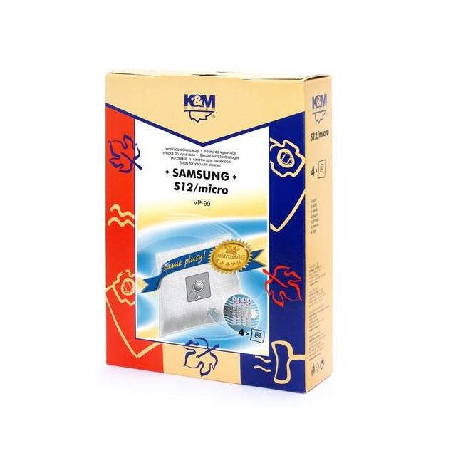 K&M Group Maisi putekļu sūcējam Samsung VP54 / VP99 KM-S12 (4gab.) aksesuārs putekļsūcējam