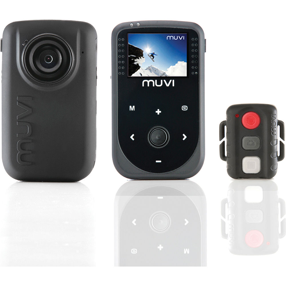 "Veho MUVI™ HD Camera NPNG Bundle with WPC + 8GB card/ 1.5"" LCD screen/ f/2.8/ Min focal range 2.5cm/ Fixed focus/ Angle 170&a sporta kamera"
