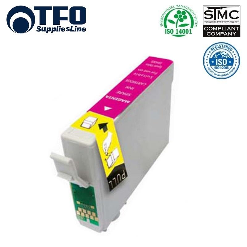 TFO Epson T1813 Sarkans Tintes kārtridžs 15ml (C13T18134010) XP-101 XP-205 XP305 HQ Premium Analogs