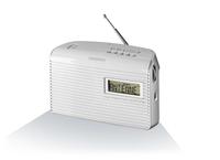 Grundig Music 61 white radio, radiopulksteņi