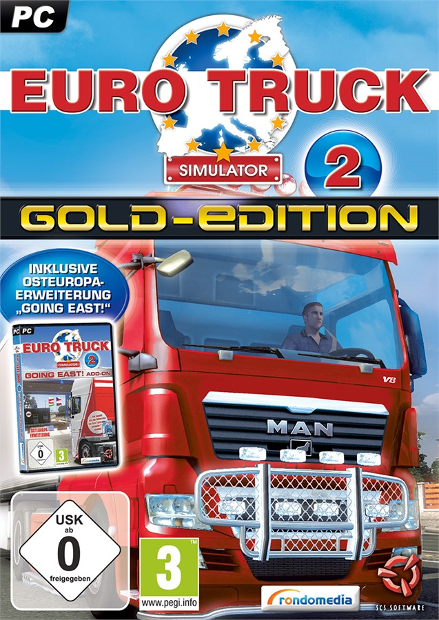 Rondomedia Euro Truck Simulator 2:Gold-Edition (PC) spēle