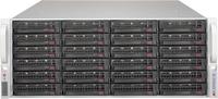 Supermicro 4U,1280W PS (red. Plat. Level) 24x 3.5 Hot-swap drive bays,