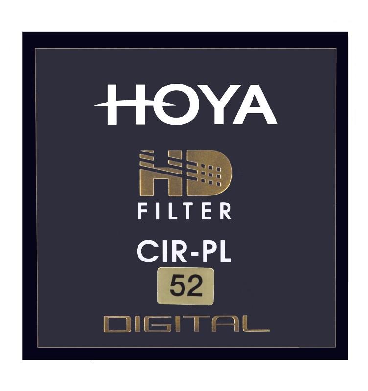 FILTER POLARIZING HOYA PL-CIR HD 52 MM UV Filtrs