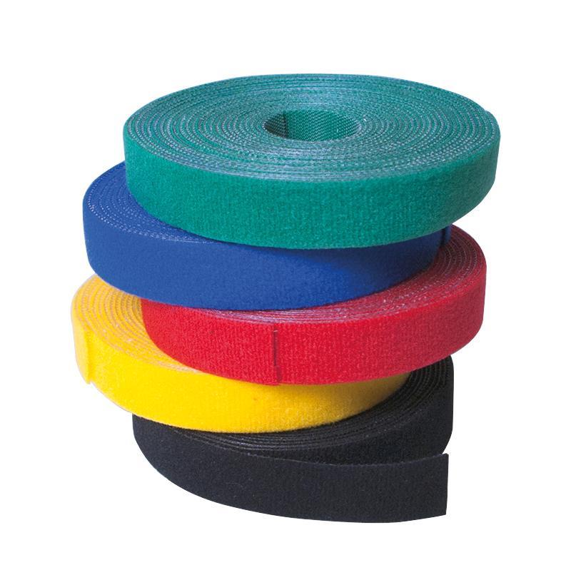 LOGILINK - Cable Strap, Velcro Tape, 4m, green