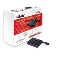 CLUB3D MINI DOCK USB3.1 TypeC>DP1.2/USB2 video karte