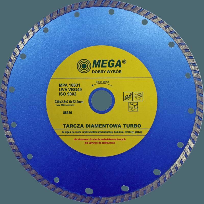 Mega Dimanta disks BTR 230x22mm turbo