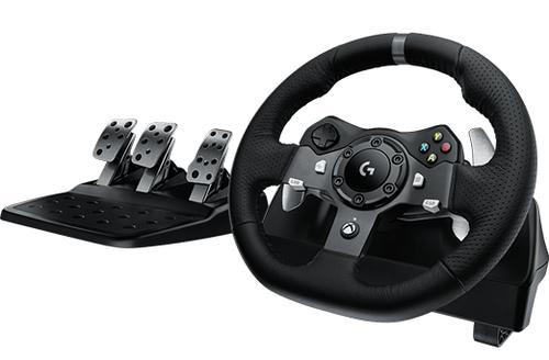 Logitech G920 Driving Force for PC, Xbox One spēļu konsoles gampad