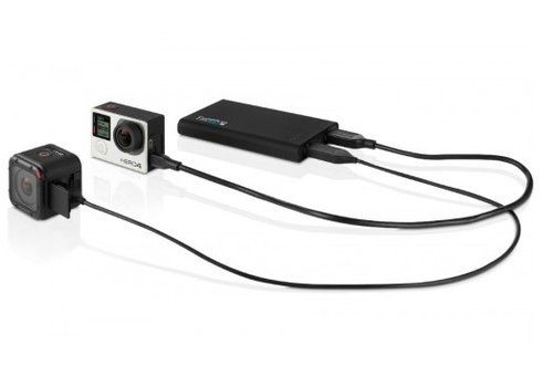 GoPro Portable Power Pack Battery Charger Sporta kameru aksesuāri