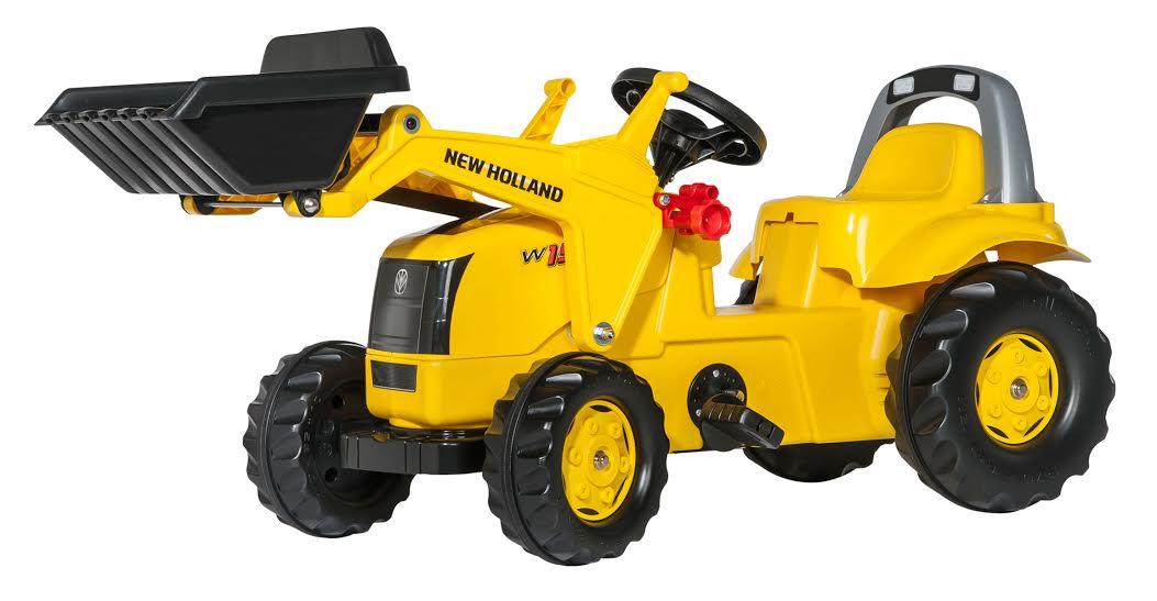 Traktors ar pedāļiem rollyKid New Holand Construction (2.5-5g.)
