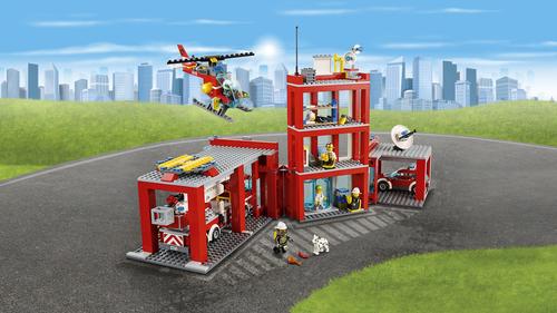 LEGO Fire Station  60110 LEGO konstruktors