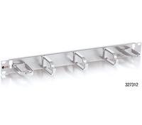Equip 19'' cable management panel w. 5 holder 1U grey Serveru aksesuāri