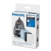 PHILIPS PowerPro Active un PowerPro Compact filtra komplekts FC 8058/01 aksesuārs putekļsūcējam