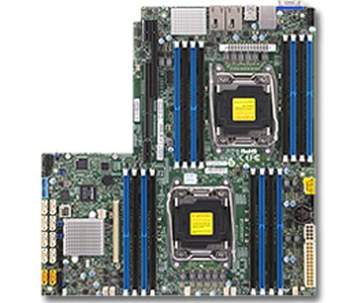 Supermicro DP, Xeon E5-2600 v3 proc. C612 chip, WIO, Riser:1xPCI-E
