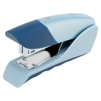 Stapler REXEL Gazelle, silver/blue biroja tehnikas aksesuāri