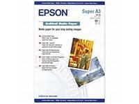 Paper Epson Archival Matte | 192g | A3+ | 50sheets foto papīrs