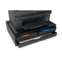A3/A4 Organizer/Stand for printers, MFP's and monitors (black, 3 drawers) biroja tehnikas aksesuāri