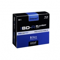 Intenso BD-R SL Blu-Ray Rohlinge 5er Pack matricas