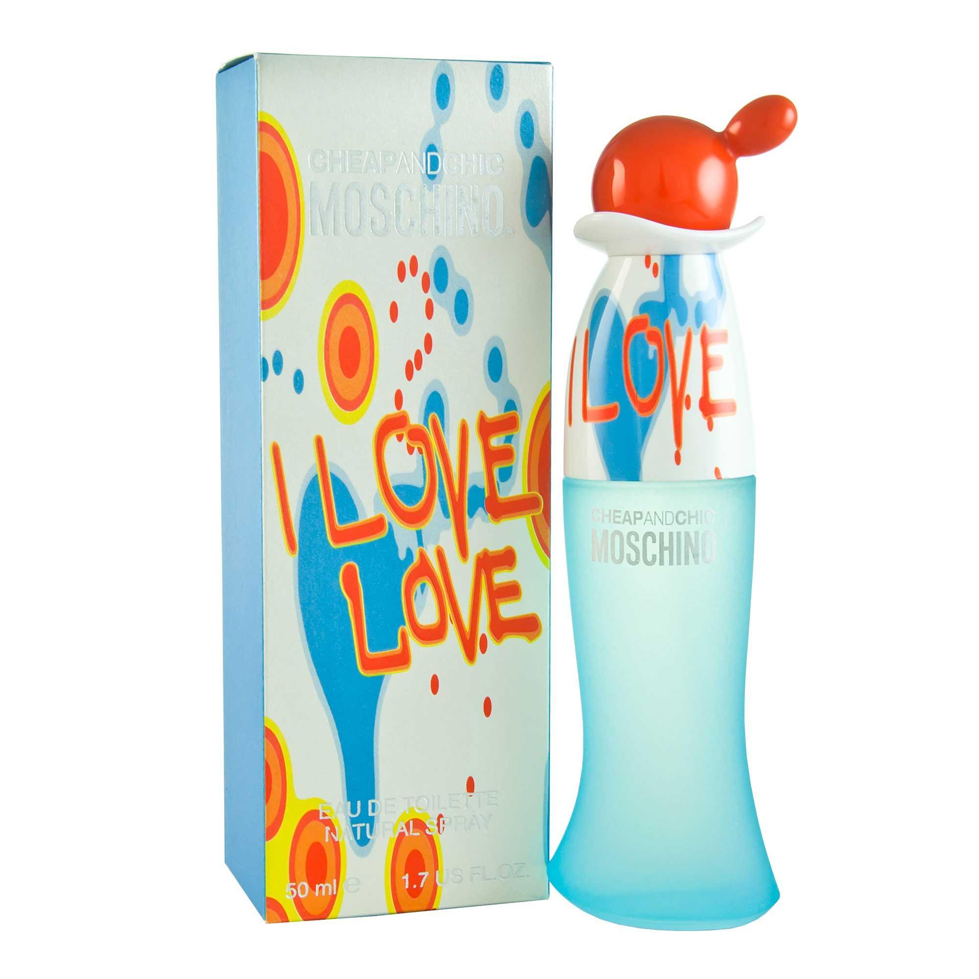 Moschino I Love Love 50ml Smaržas sievietēm