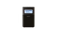 Sony XDR-V1BTDB Tragbares Uhrenradio black radio, radiopulksteņi