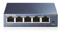 TP-Link TL-SG105 Switch 5x10/100/1000Mbps, Metal case, IEEE 802.1p QoS komutators