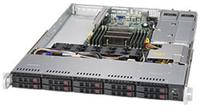 1U, 8+2 SATA3 HDD,  E5-2600/1600 v3 support, C612 chipset, SuperServer serveris