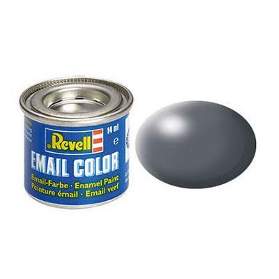 REVELL Email Color 378 Dark Grey Silk biroja tehnikas aksesuāri