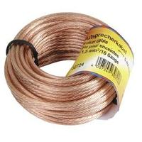 HAMA LOUDSPEAKER CABLE   2X1,5MM 10M kabelis, vads