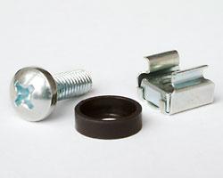 Netrack Rack Screw/CageNut/Washer - set of 50pcs Serveru aksesuāri