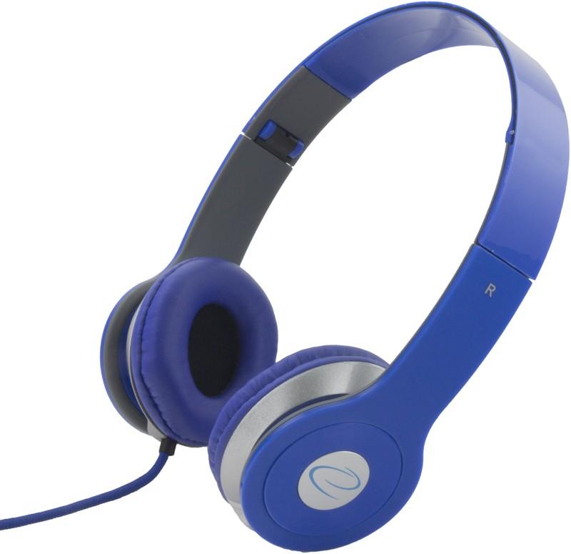 ESPERANZA Audio Stereo Headphones with volume control TECHNO EH145B   3m austiņas