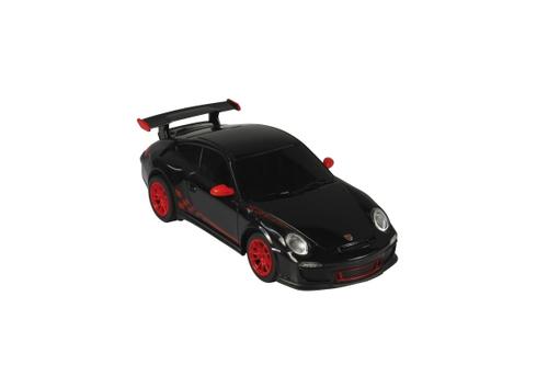 Jamara Porsche GT3 RS 1:24 black 40MHz          Alter:6+ Radiovadāmā rotaļlieta