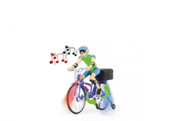 Jamara Fahrrad with Sound                           Alter:6+ Radiovadāmā rotaļlieta