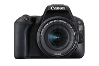 Canon EOS 200D Kit black + EF-S 18-55 IS STM Spoguļkamera SLR