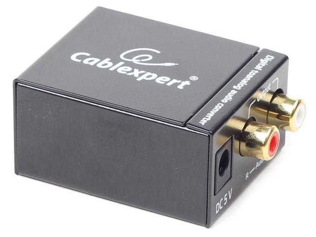 Gembird digital (toslink) to analog audio converter