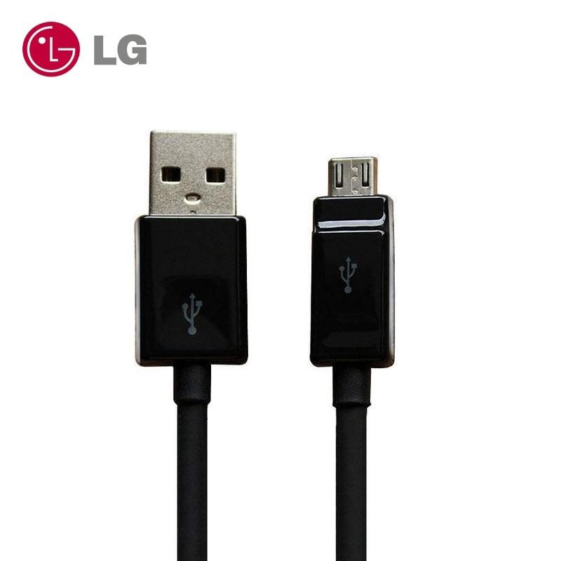 LG EAD62329304 oriģināls Micro USB Datu & Sinhroniz cijas Kabelis DC05BK-G (OEM) aksesuārs mobilajiem telefoniem