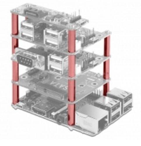 Befestigungsset Delock for Raspberry Pi 30mm innen/ausen Raspberry PI datora daļas