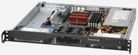 SuperChassis 512F-350B - 1U, 350W PS (Gold Level), 2x 3.5'' Internal HDD bays serveris