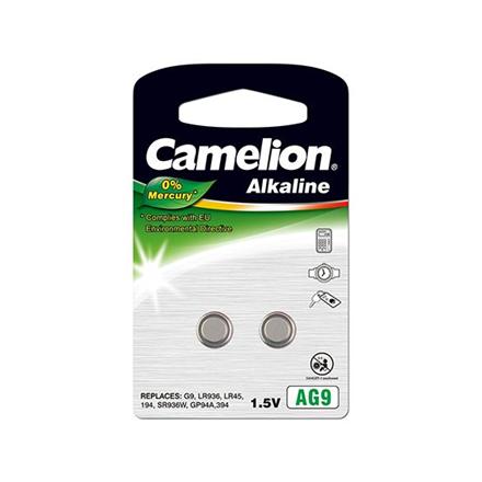 Camelion Alkaline Button celles 1.5V LR936/LR45/394, 2-pack, no mercury Baterija