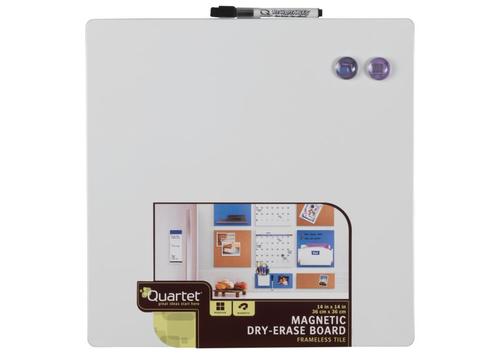 NOBO Quartet board 36x36 cm, white, magnetic, dry-erase biroja tehnikas aksesuāri