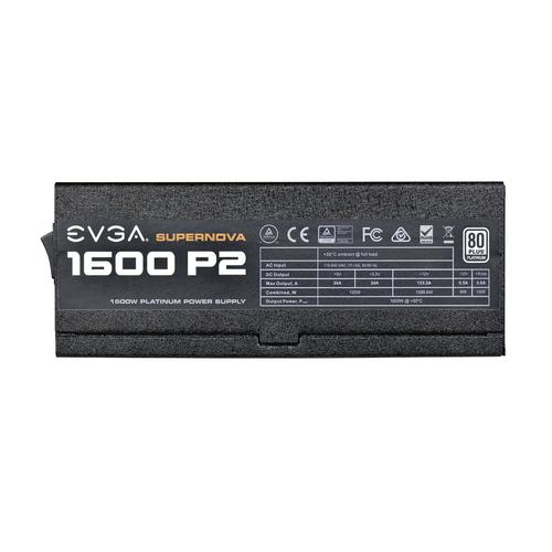 EVGA SuperNOVA 1600 P2 1600W, 80 PLUS Platinum, Full modular Barošanas bloks, PSU