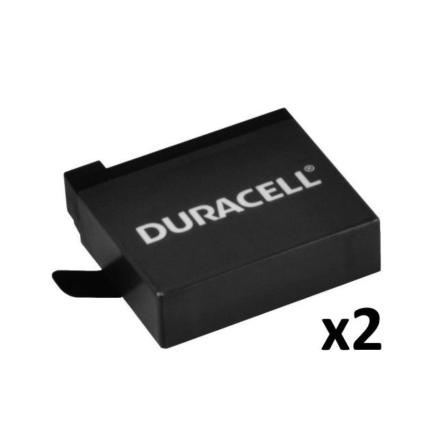 Duracell Premium Analogs AHDBT-401 Akumul tors 2 gab. GoPro 4 Black & Silver 3.8V 1160mAh Sporta kameru aksesuāri